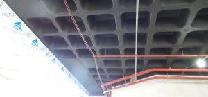 projeto de arquitetura Baggio vista do teto