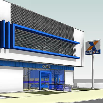 Baggio faz projeto de arquitetura bancária para CEF