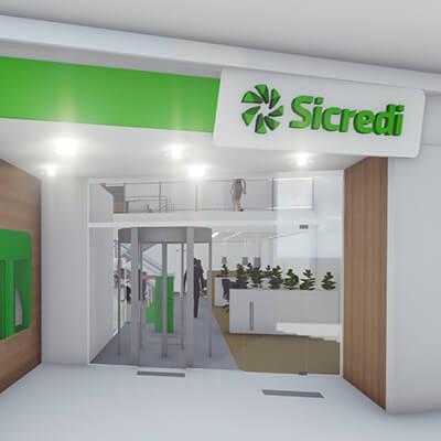 Projeto de arquitetura de segurança para Sicredi realizado pela Baggio
