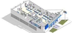 Baggio desenvolve projeto de arquitetura bancária para CAIXA