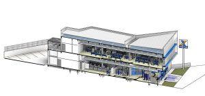 projeto de arquitetura bancária Baggio