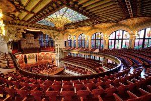 Palau de la Música Catalana - Arquitetura de Barcelona